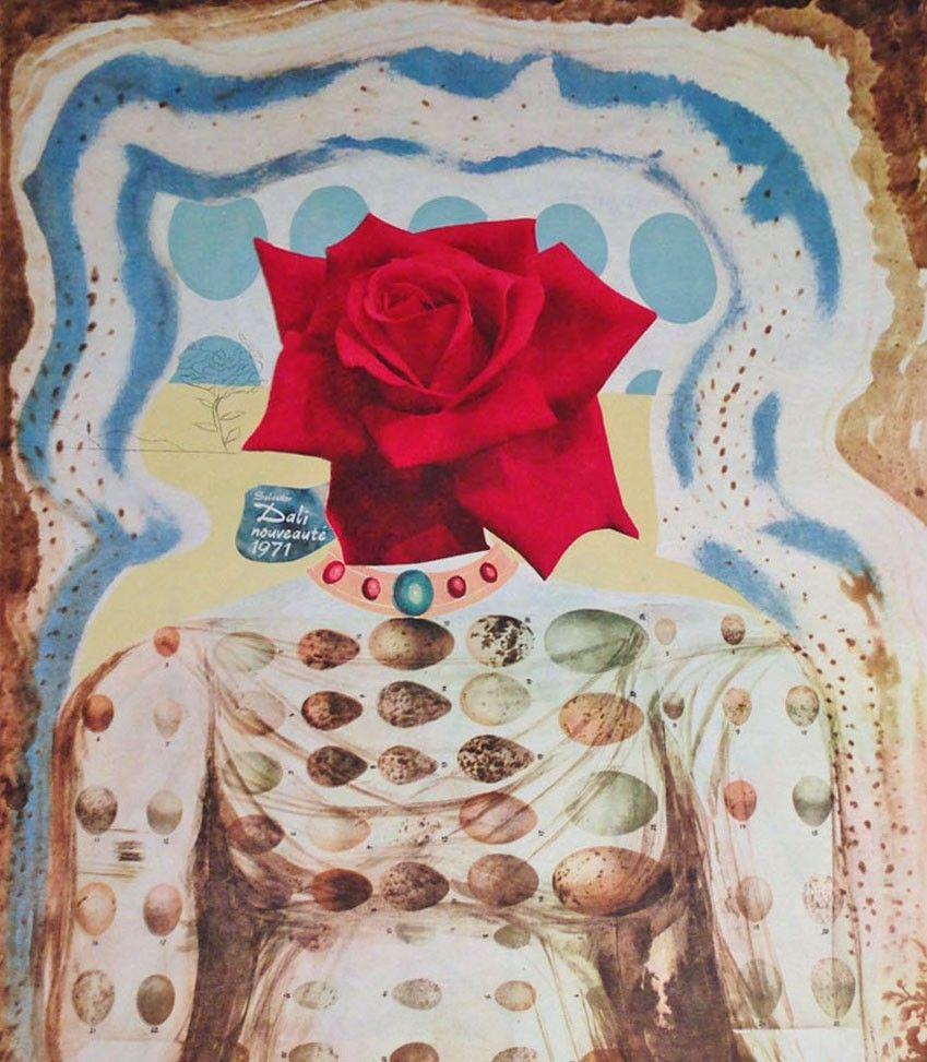 surrealist flower girl (jeune fille fleur surréaliste),