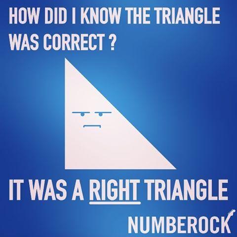 types of triangles math jokes math humor funny math jokes math jokes. Black Bedroom Furniture Sets. Home Design Ideas