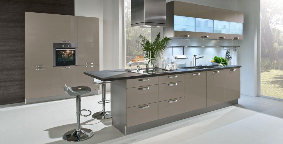 modern hacker german luxury kitchen in 1030 basalt grey