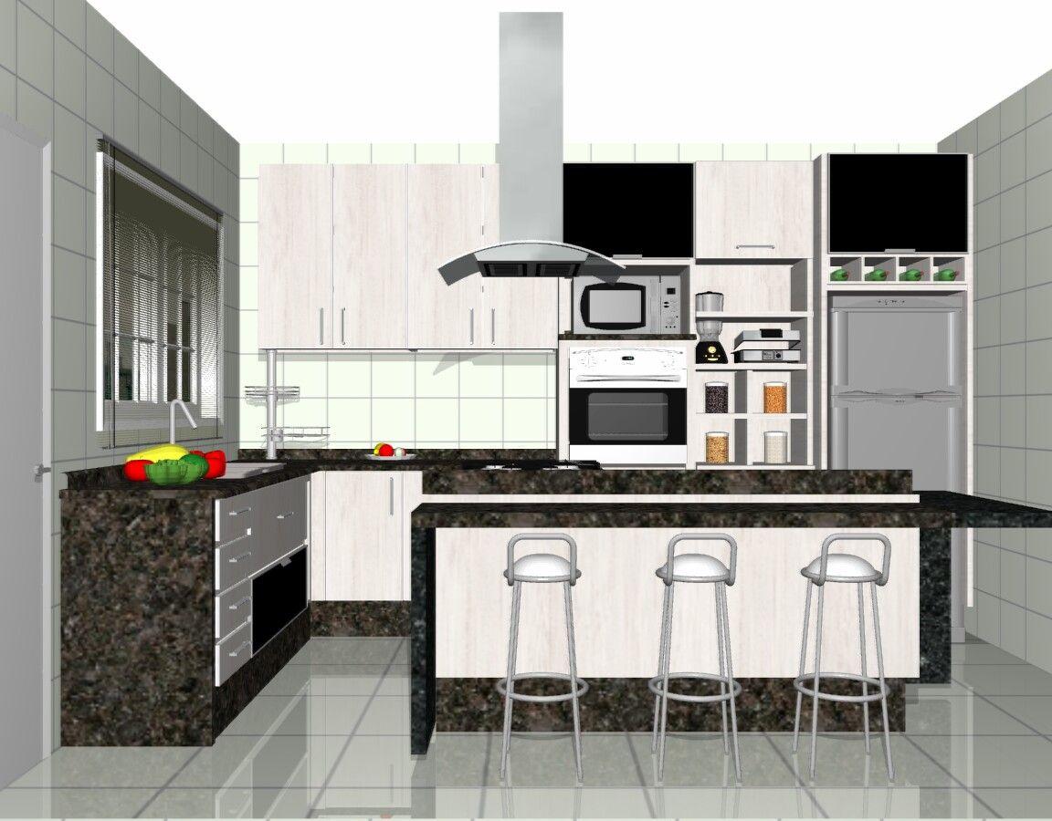 Cozinhas Pequenas Com Ilha Ideias Para Decorar Cozinhas Pequenas