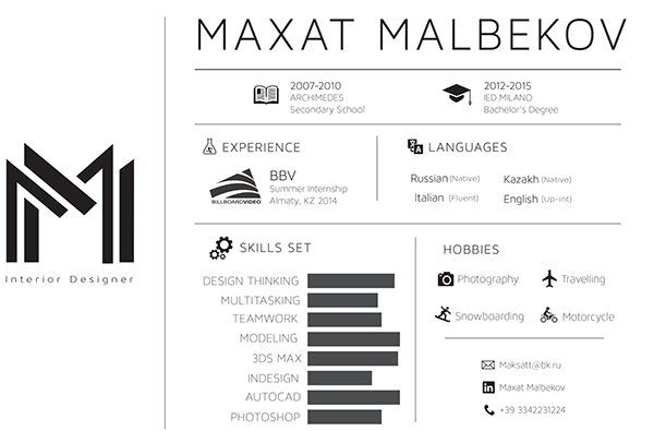 Resume Design Inspiration 50 Inspiring Resume Designs And What You Can Learn From Them