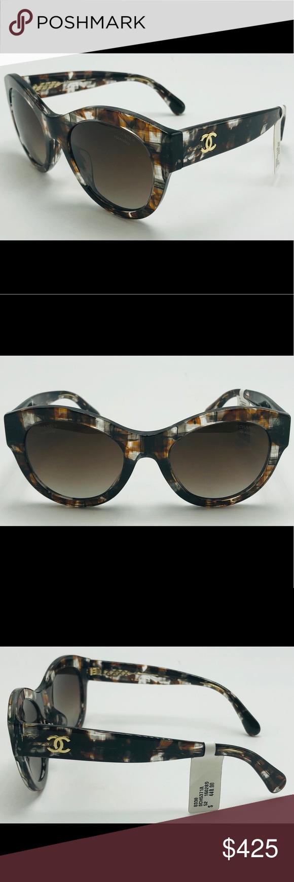 712df8bfa4 NWT Polarized Brown CHANEL Sunglasses 5371-A New Polarized Chanel Sunglasses  Condition – New with
