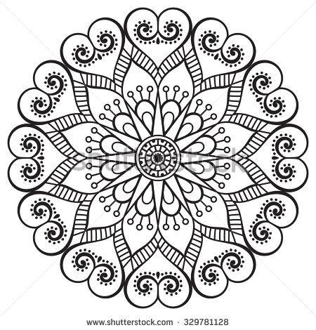 Pin de Bethoven 🌸 en Mandálas | Pinterest | Mandalas, Pintar y ...