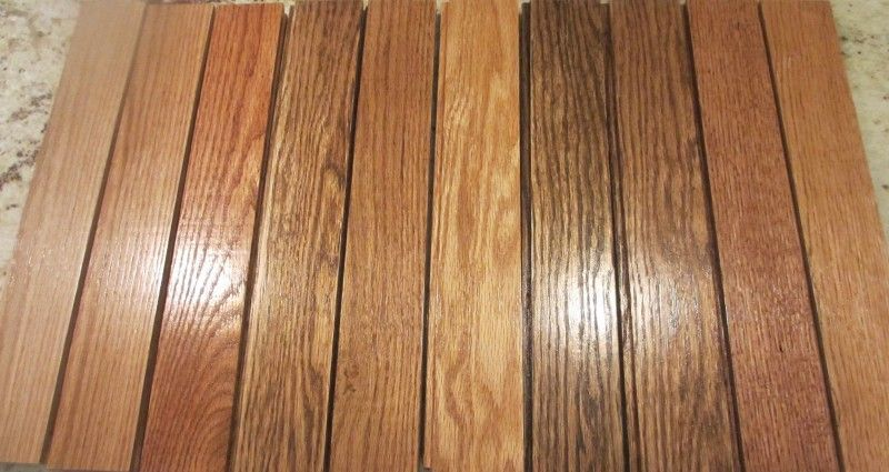 Fair Wood Stain Colors For Kitchen Cabinets And Wood Stain Color