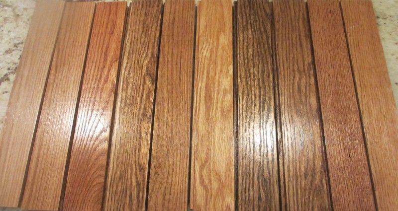 how to change wood floor color