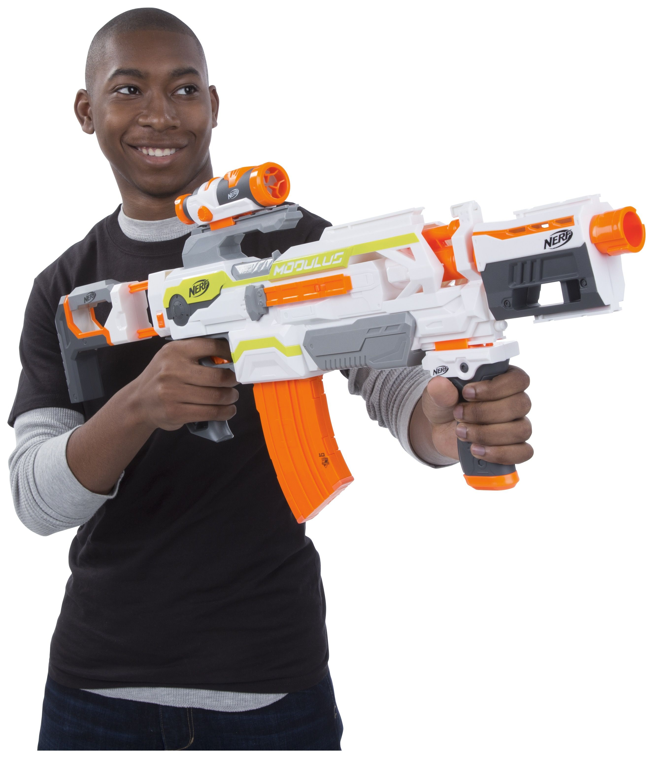 Create your own battle field with the nerf modulus blaster
