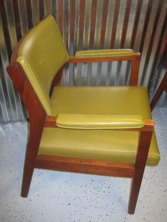 Midcentury Armchair Alma Desk Company High Point NC By MindysFinds, $300.00