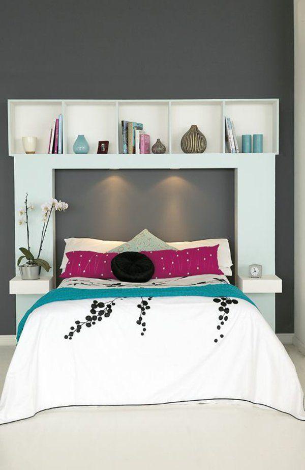 Praktische Einrichtungsideen Im Schlafzimmer Regalsystem - Regalsystem schlafzimmer