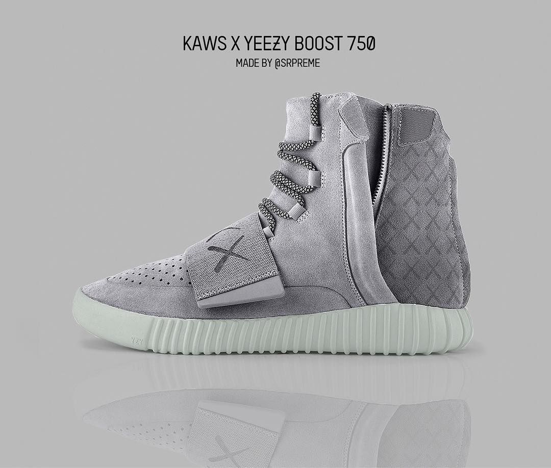 87b6eba59 Who would cop if released these KAWS X Yeezy Boost by