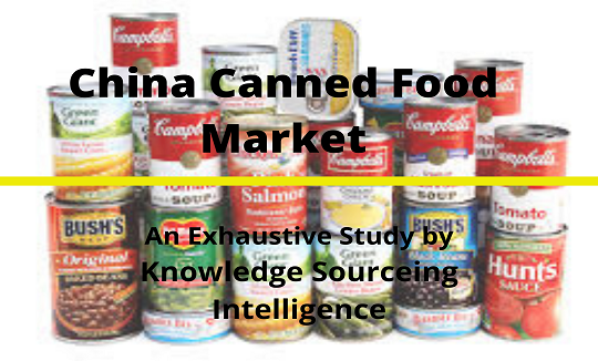 China Canned Food Market To Grow At A Cagr Of 8 72 2018 2024 Canned Food Food Market Canned