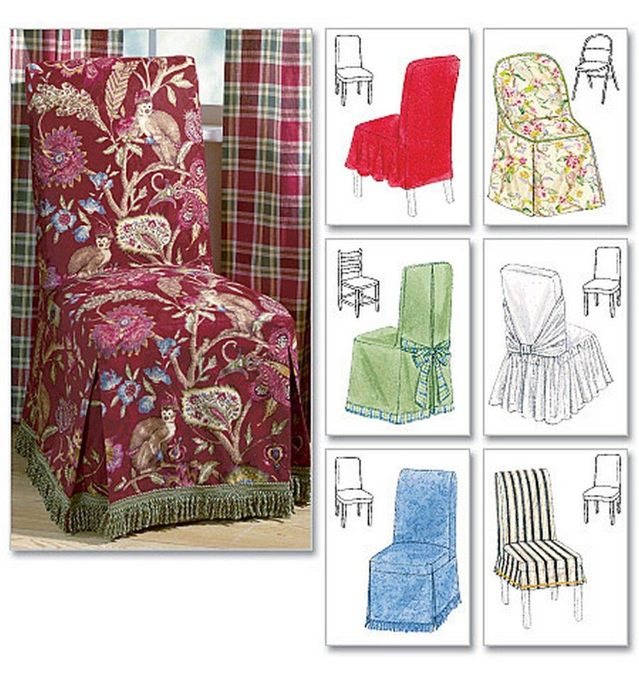 Dining Room Chair Slipcovers The Slipcover Maker Vogue Cover Sewing Pattern 5 Seat Covers Sold
