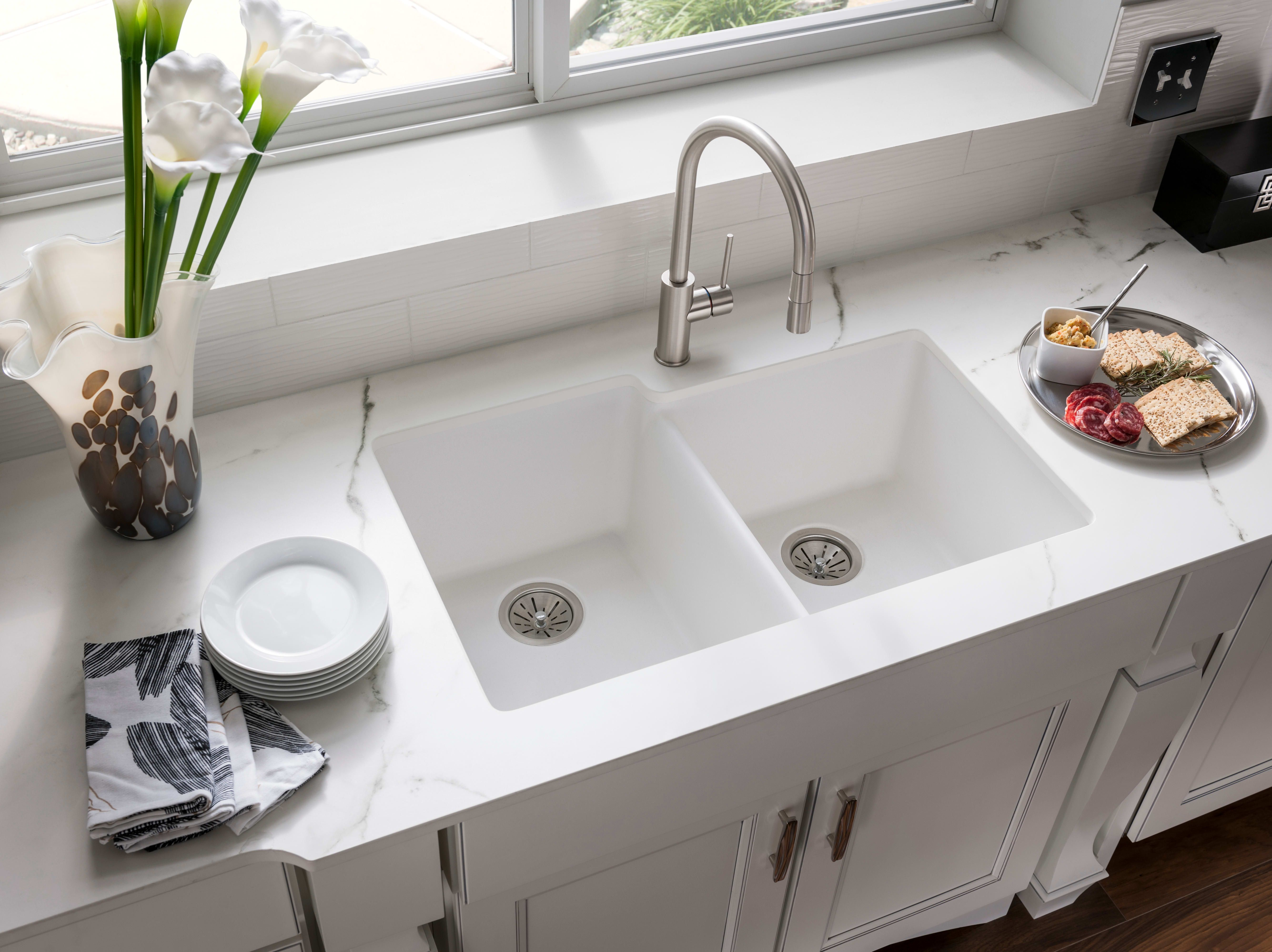 8 Types Of Sinks For Your Kitchen Undermount Kitchen Sinks White Kitchen Sink Best Kitchen Sinks