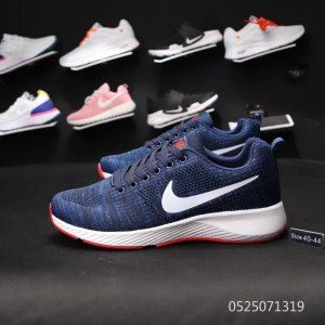 0610ab982bb0 Mens Shoes Nike Air Zoom Shield Flyknit Navy Blue White