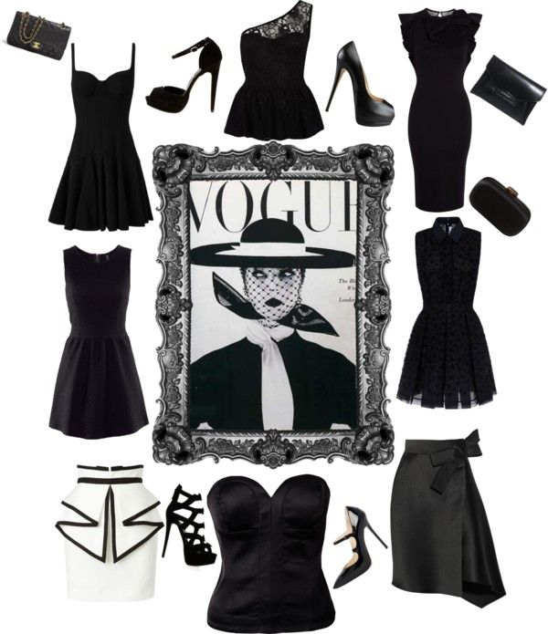 """lady black"" by makeupcolours ❤ liked on Polyvore"