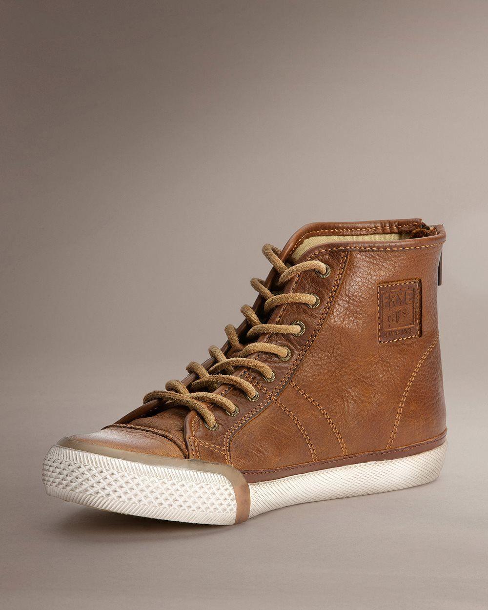 Leather sneakers women