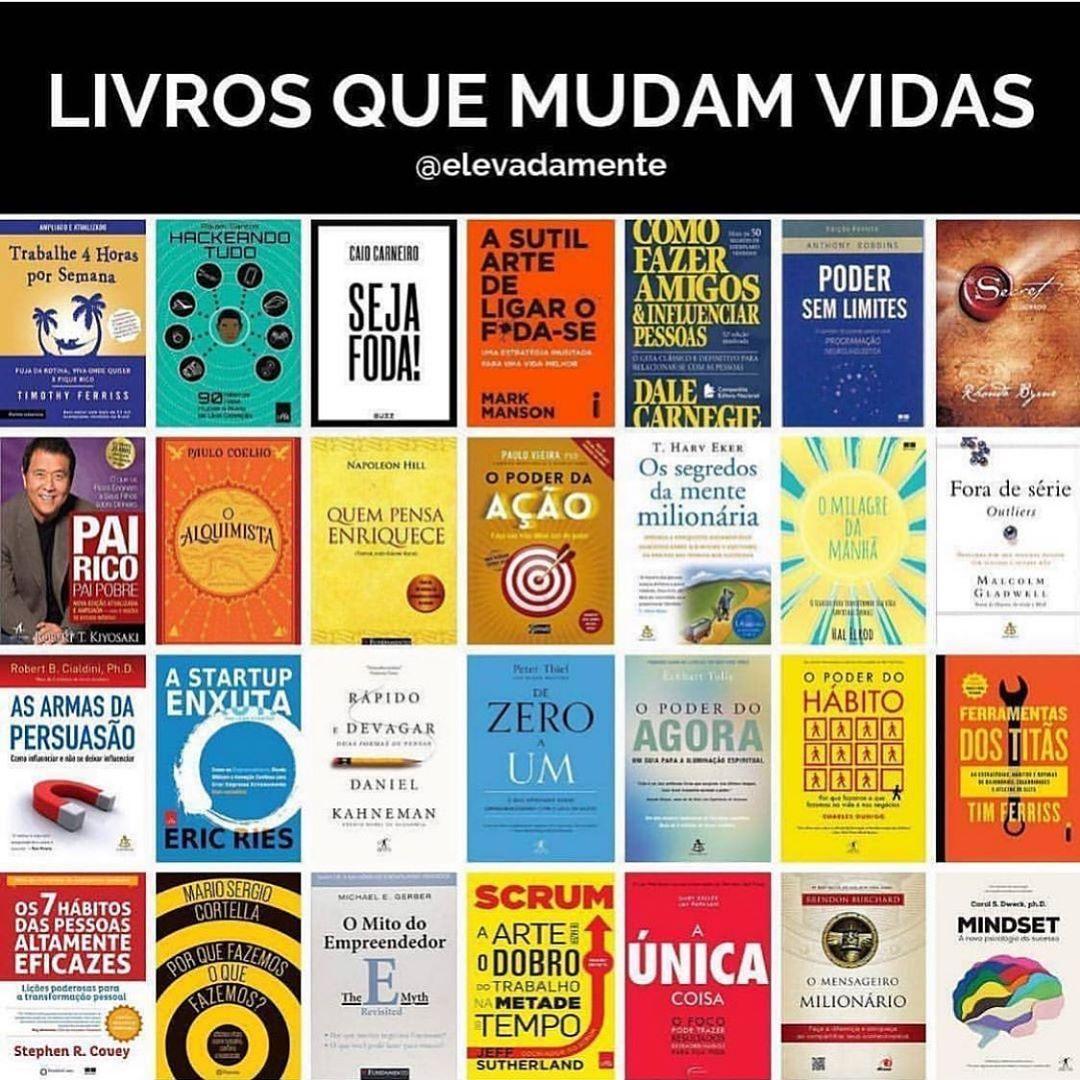 Pin De Rafa Borges Em Livros Livros Motivacionais Livros De