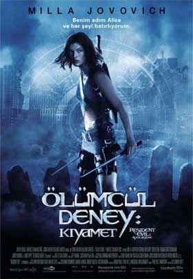 Olumcul Deney 2 Kiyamet Turkce Dublaj Izle Kiyamet Resident Evil Milla Jovovich