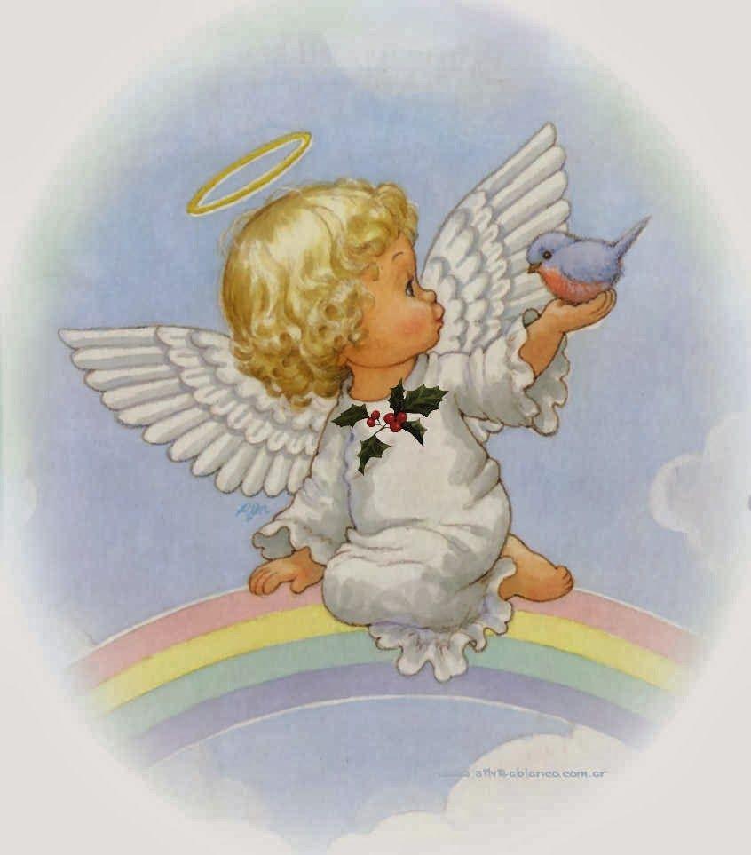 Ангелочки крещение картинки