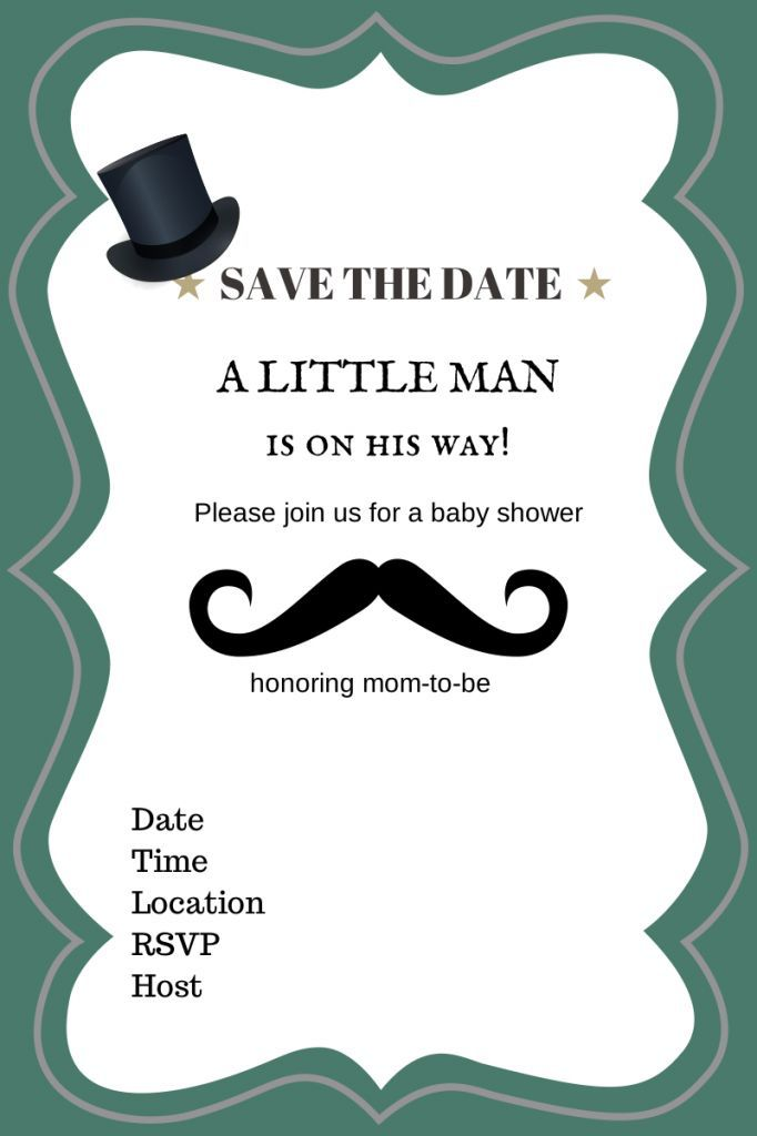 free printable baby shower invitations for boys - Recherche Google ...