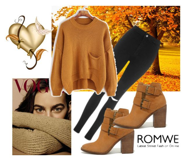 """romwe"" by nizama-bojic-husejnbasic ❤ liked on Polyvore featuring Topshop and Steve Madden"
