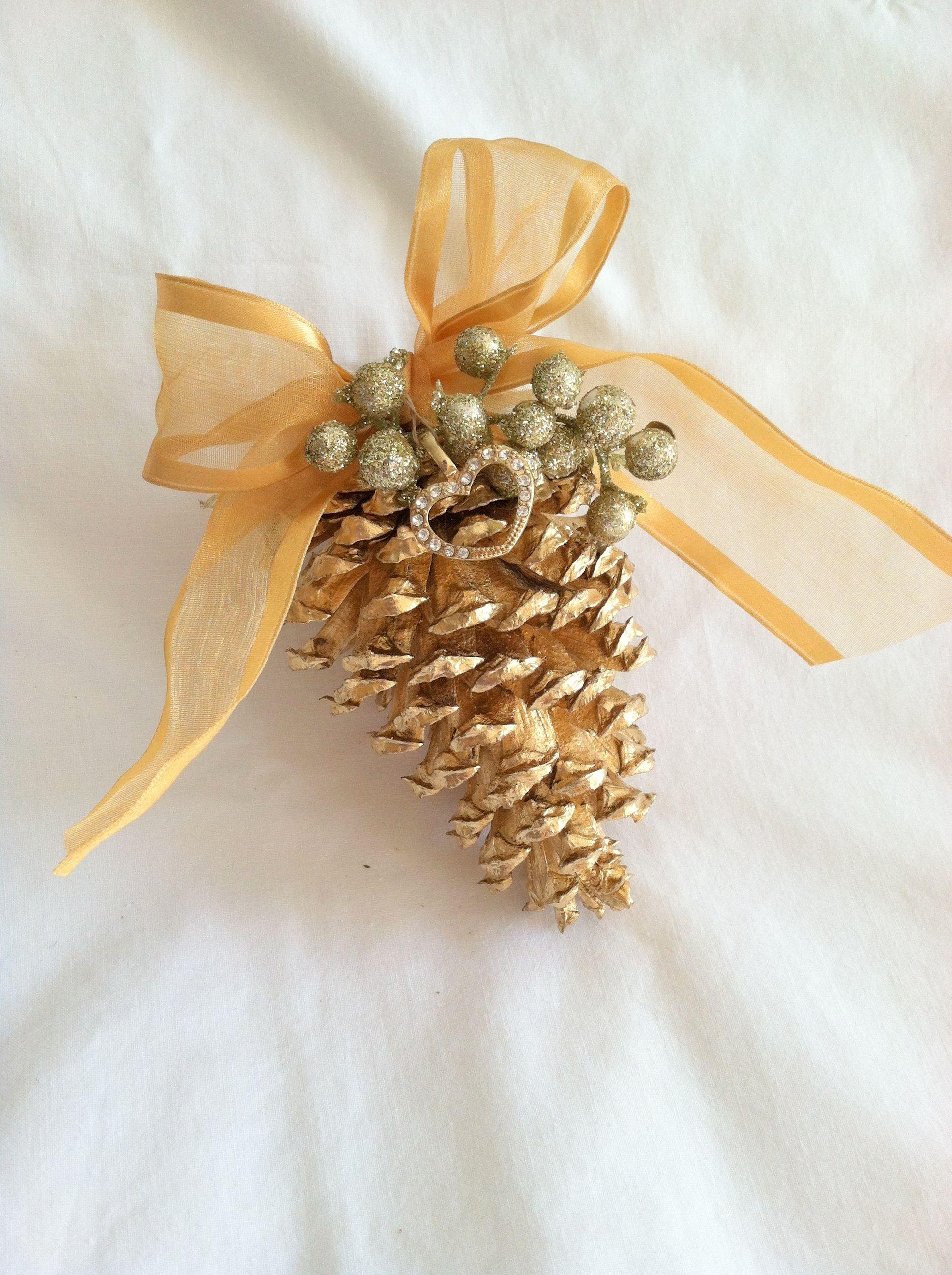 Pine Cone Christmas Crafts Pinterest