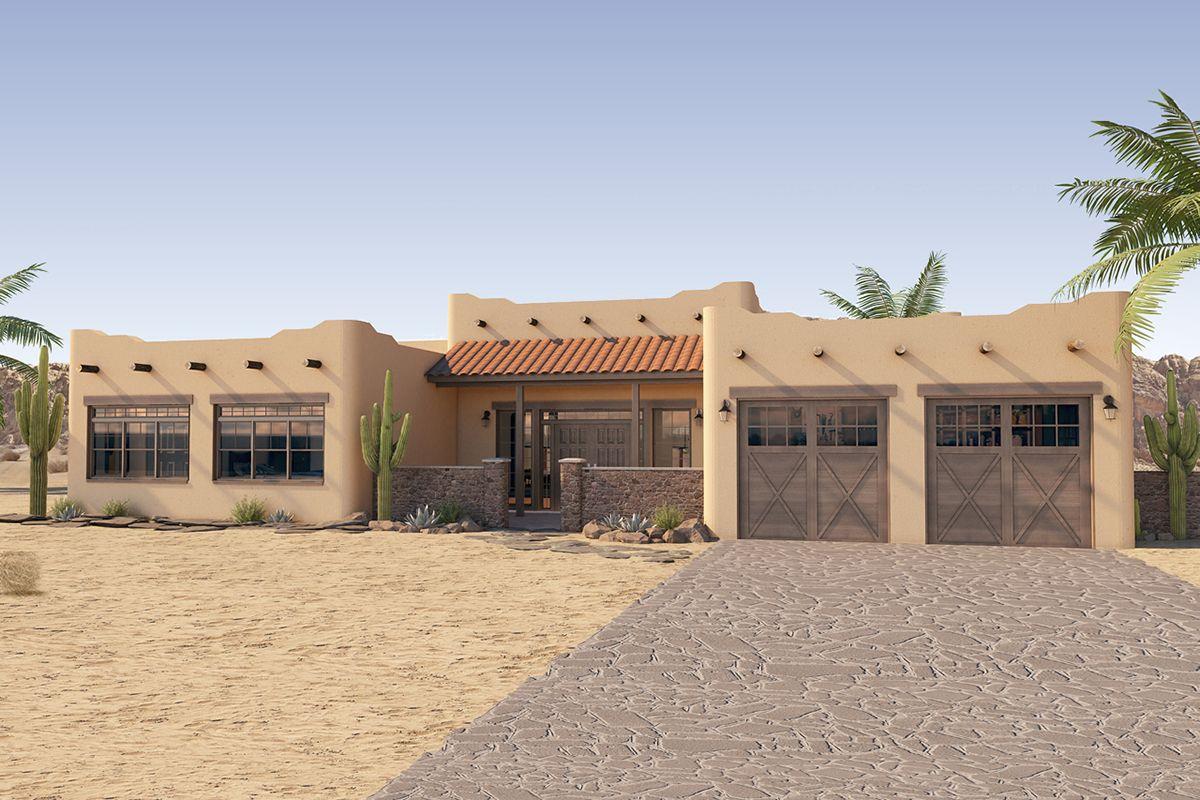 Southwest House Plan 2699