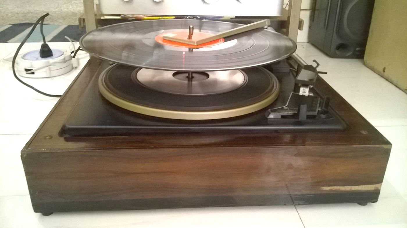 GARRARD 40B AUTO VINYL CHANGER WITH 4 SPEED  | CLASSIC
