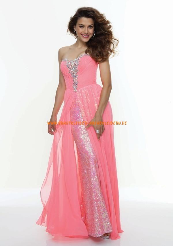 Buntes sexy Abendkleid Chiffon online kaufen 2012 | DRESScode ...