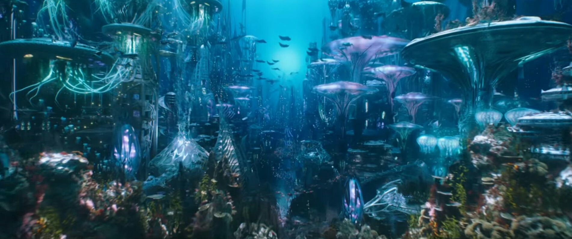 Image result for aquaman movie screenshots atlantis