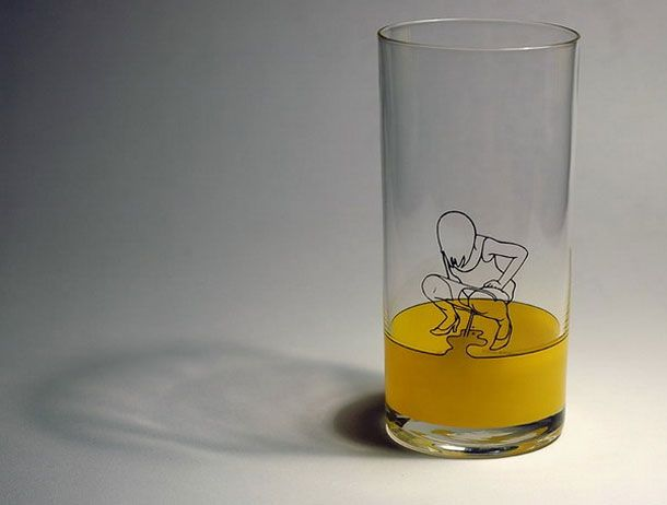 Funny Shaped Drinking Glasses 22 Creative And Unusual