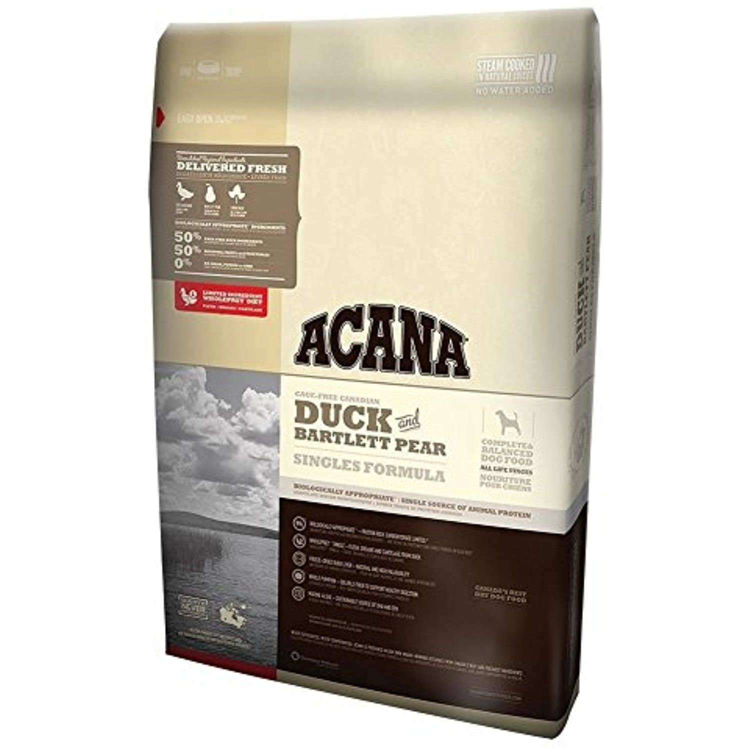 Acana Duck & Bartlett Pear Dry Dog Food 4.4lb You can