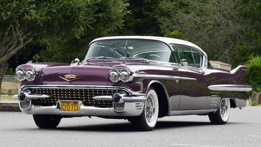 1958 Cadillac Series 62 Coupe Deville Classiccars1957cadillac