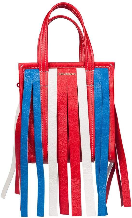 44aa3e45e Balenciaga Fringed Shoulder Bag