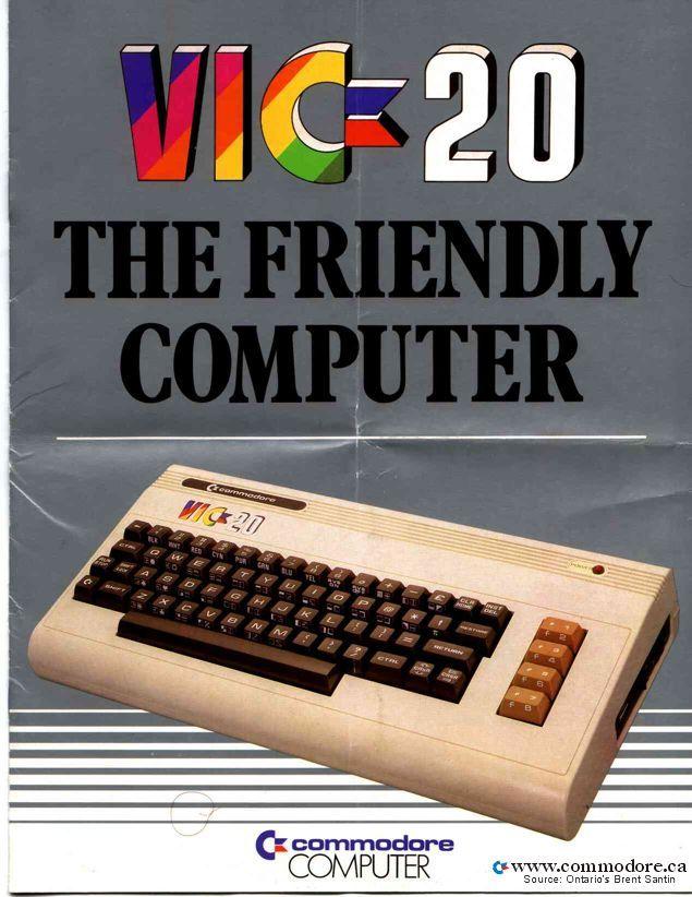 VIC-20.  Bam!
