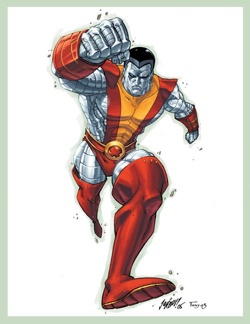 Colossus Colored by Jonboy007007