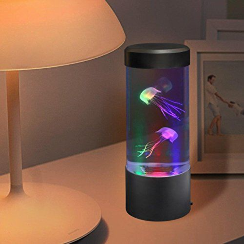 Sensorymoon Large Led Jellyfish Lava Lamp Aquarium