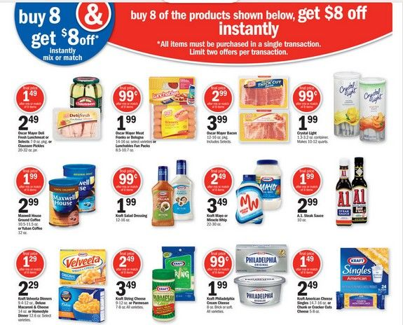 photo relating to Meijer Printable Coupons called Meijer Coupon Purchasing Situations 6/9 - 6/15! 2 Kraft Salad
