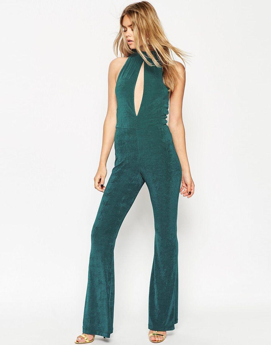Image 1 of ASOS 70\'s Slinky Jumpsuit | Want List: Dresses ...