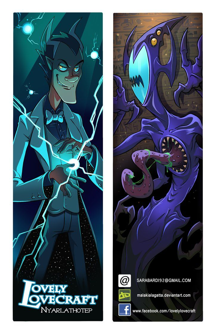 Ll Bookmarks Nyarlathotep By Malakialagatta Bookmarks