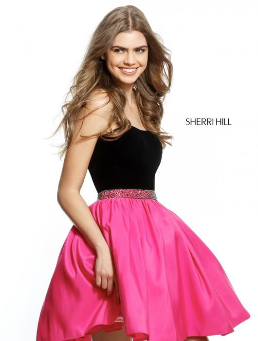 b7290793be4 Shop the largest selection of Sherri Hill Homecoming Dresses in Tampa Bay  Area! Visit us online at www.nikkisglitzandglamboutique.com