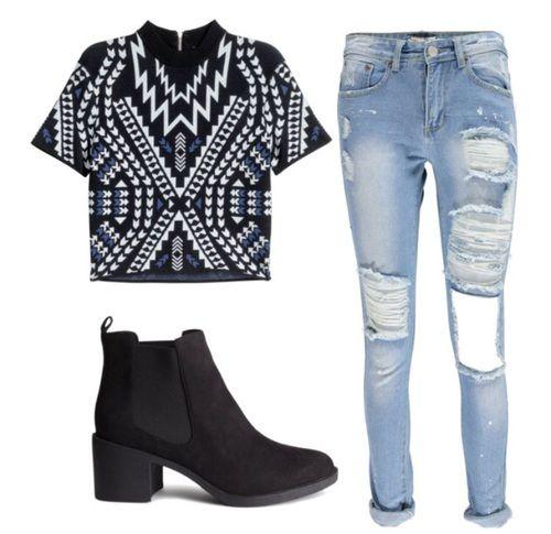 Imagen de outfit and Polyvore