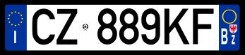 Italian License Plate Svg Registration Plates Vehicle Registration Plate Buick Logo