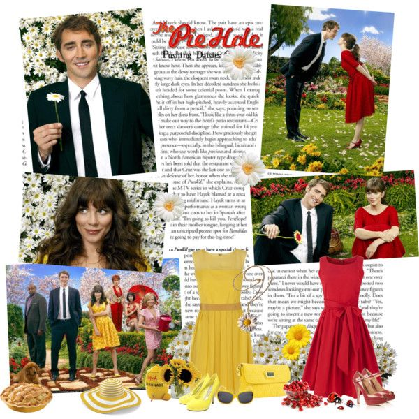 """""""Pushing Daisies"""" by littlemissnurse on Polyvore"""