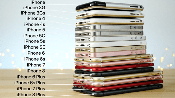 How Many Iphone Models Are There In History [To Date 2018