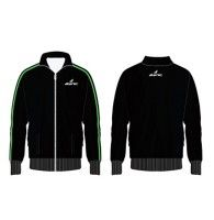 Black Full Sleeved Sports Jacket Manufacturer Sports Jacket Jackets Sports Shirts