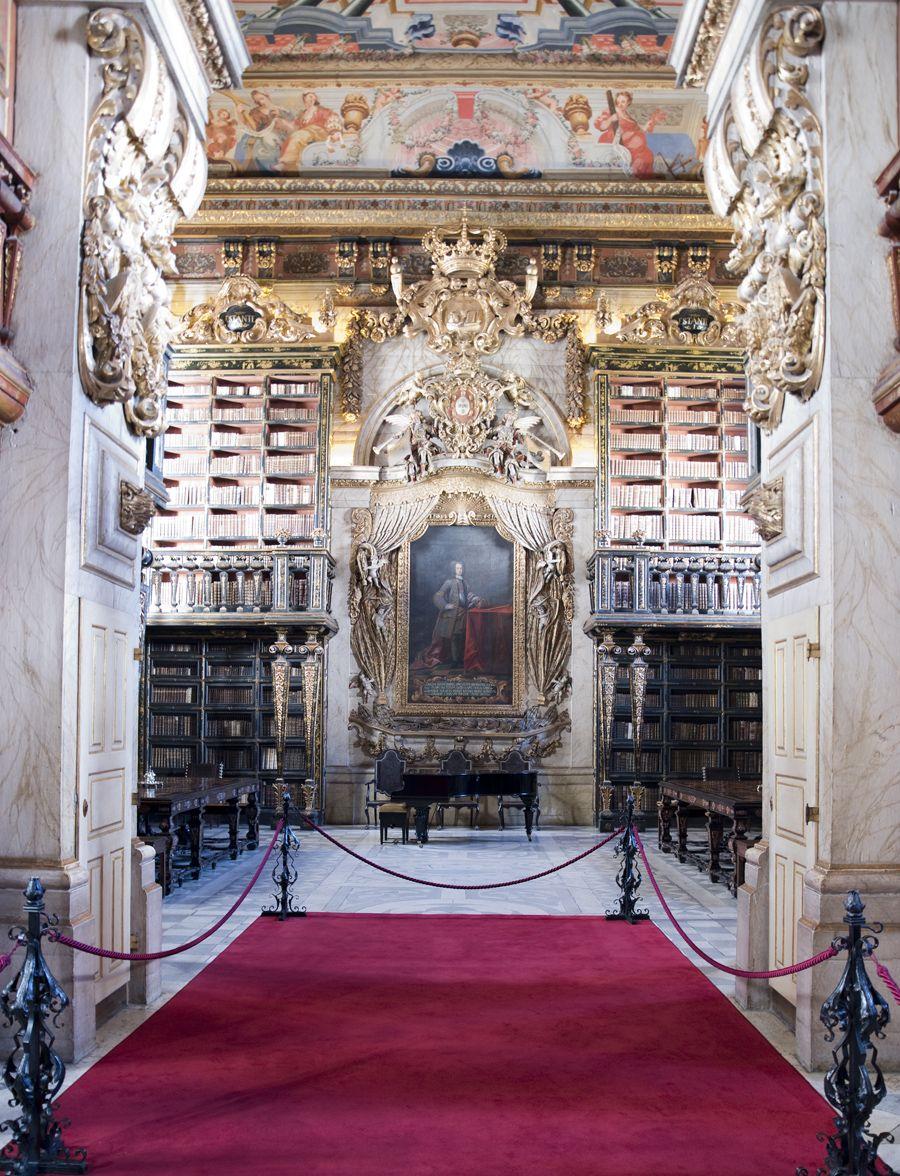 Biblioteca Joanina O Templo Dos Tesouros Em 2020 Biblioteca