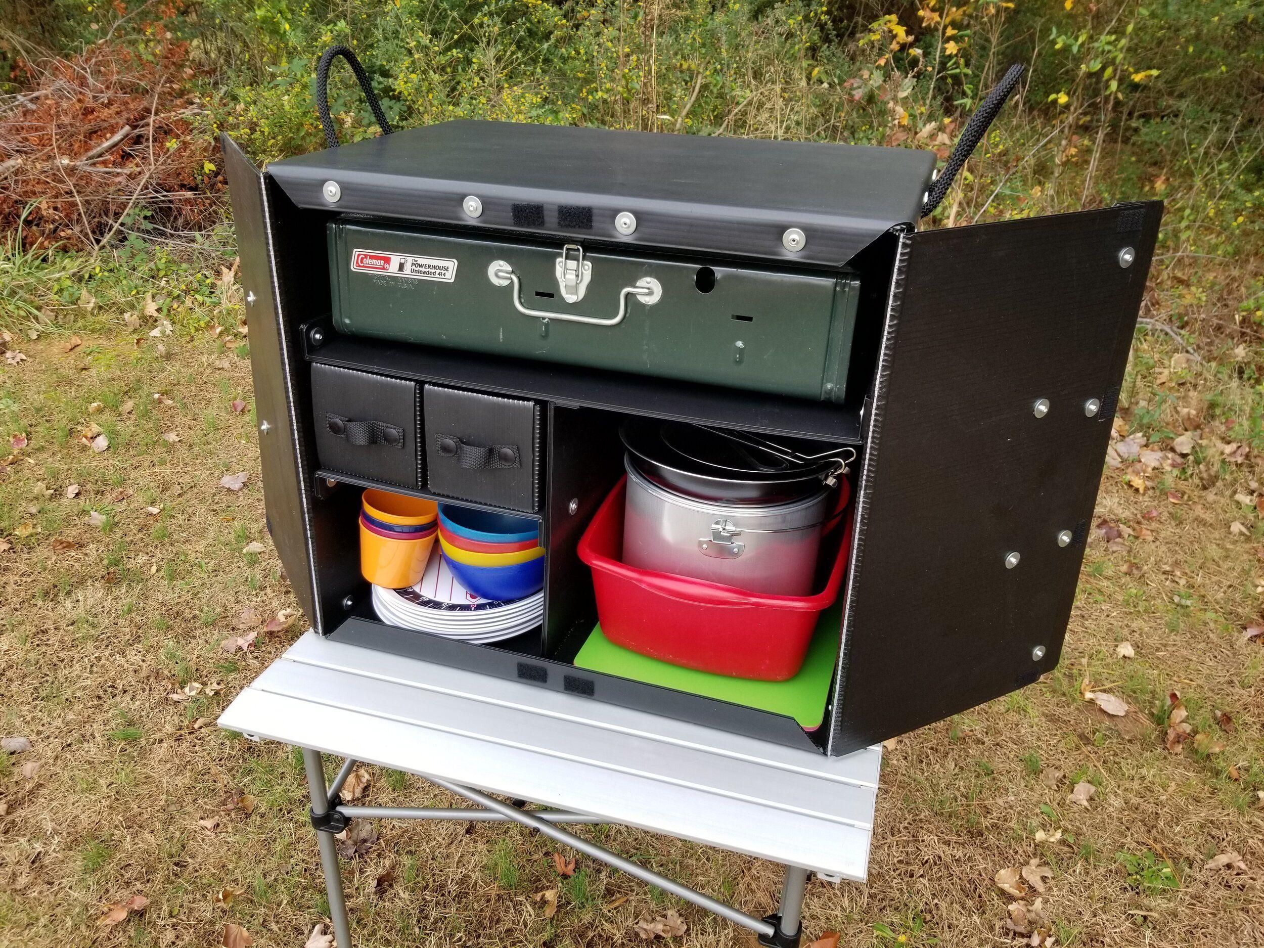 1000 Camp Kitchen Box Kitchen Box Camp Kitchen