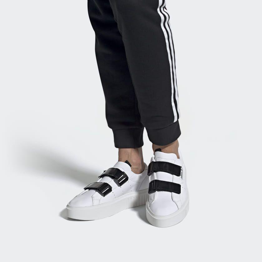 dividir Sustancial Soberano  adidas Sleek Super Shoes - White | adidas US | Shoes sneakers adidas, Adidas,  Adidas shoes originals