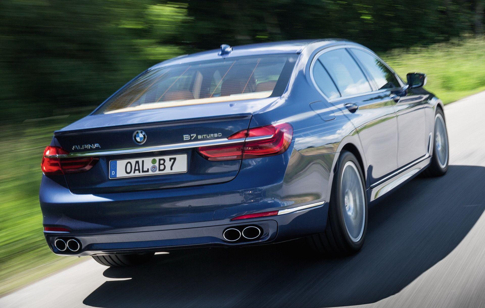 Meer foto's van de nieuwe BMW Alpina B7 BiTurbo