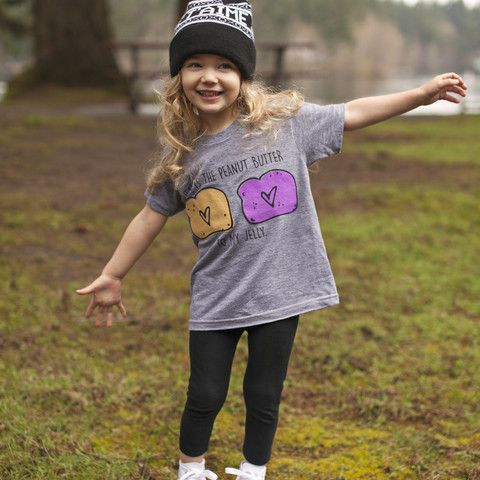 """Kid's Unisex """"Jesus is the Peanut Butter to my Jelly"""" Tee – Be Still Clothing Company"""
